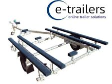 750kg Boat Trailer for inflatable boats up to 5.3m - made in UK - lightweight