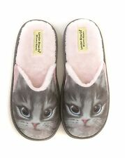 Ladies & Girls 3D Print Novelty Slippers Cats & Dogs Size 3 to 8 UK - XMAS GIFT