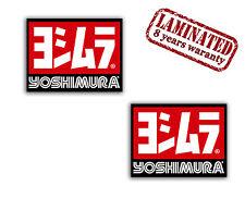 2 Yoshimura Autocollants Auto Moto Vinyle Stickers Tuning Rally Suzuki Racing