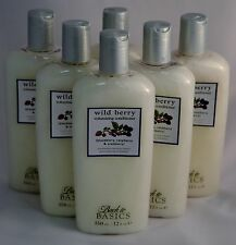 LOT OF 6 Back to Basics Wild Berry Volumizing Conditioner 12oz each