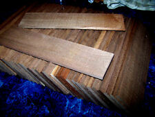 "30 BEAUTIFUL THIN KILN DRIED SANDED BLACK WALNUT 12"" X 3"" X 1/4"" LUMBER WOOD"