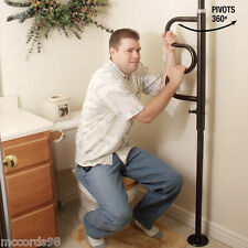 Standers Security Bed Assist Pole and Curved Grab Bar