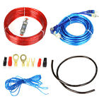 New Car Audio Amplifier Power Wire Wiring Amp Kit 8 GA Power Cable Fuse Holder