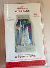 2013 HALLMARK D23 DISNEY EXCLUSIVE CINDERELLA CASTLE CHRISTMAS ORNAMENT ONLY 825
