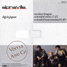 ALPHAVILLE - Big In Japan [Extended Remix] MAXI 45 TOURS Germany Maxi-Single 12""
