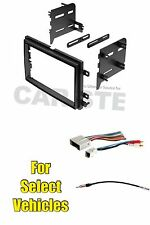 Double Din Radio Kit Combo for select Ford F150 Mustang Fusion Explorer Focus