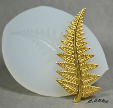 LEAF SILICONE MOLD FOOD USE POLYMER CLAY RESIN FIMO MOULD PLASTER WAX
