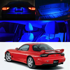 Mazda RX7 FD3S BLUE LED Interior Bulb Package (Map Dome Trunk License Plate)