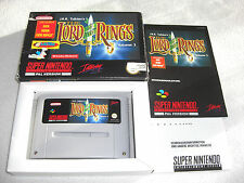 Lord of the Rings SNES Spiel komplett mit OVP und Anleitung