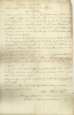 Regno d'Italia Regnante Vittorio Emanuele II - Reggio - Scrittura Privata 1863