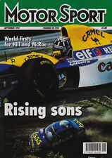 Motor Sport Sep 1993 - Hungarian Grand Prix Hill, New Zealand Rally, NASCAR