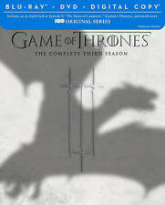 Game of Thrones: The Complete Third Season (Blu-ray/DVD, 2014, 7-Disc Set,...