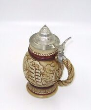 Avon Handcrafted Old Sailing Ships Beer Stein Made In Brazil 1977