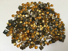 SPECIAL OFFER Mixed Bag Of Hot Fix Iron On Metal Studs Embellishment 400pcs