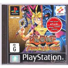 PLAYSTATION 1 YU-GI-OH FORBIDDEN MEMORIES BRAND NEW NOT SEALED YU GI OH [BN]