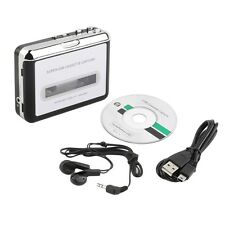Tape to PC Super USB Cassette-to-MP3 Converter Capture Audio Music Player NEW LE