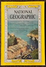 National Geographic magazine June 1963 Italian Riviera, Frogs, Katmai, Mona Lisa