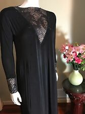 Stretch Khaleeji Abaya Arabic Jilbab With Hijab Dubai Made Size M 56