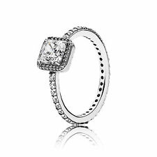 NEW! Authentic Pandora Silver 925 Timeless Elegance Ring 190947CZ Size 5 / 50