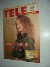 TELE PROGRAM 94/51 (22/12/94) JANE SEYMOUR KIM BASINGER CINDY CRAWFORD REDFORD