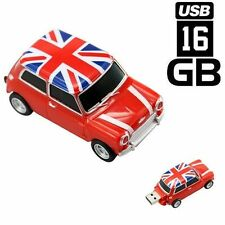 PENDRIVE 16GB USB FLASH 2.0 COCHE MINI CAR