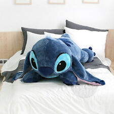 New Disney Stitch 120cm 47in Big Size Lying Plush Doll + Expedited ship