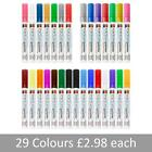 Porcelain Pens. Permanent ink. 29 colours to choose from