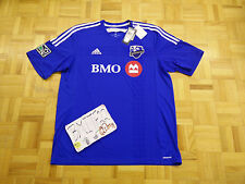 NWT Montreal Impact FC Adidas (Canada MLS League) Football Soccer Men Jersey XL