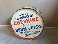 Vintage Ludwig 67'-69' Marching Band Bass Drum Cheshire, CT 27.5 in. Decoration