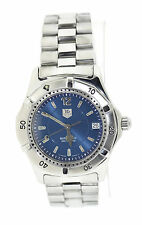 Tag Heuer 2000 Series Blue Dial Automatic Stainless Steel Watch WK2117