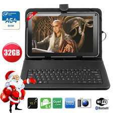 "32GB 10.1""Inch WIFI Android 5.1 Quad Core Allwinner A64 TABLET PC Free Keyboard"