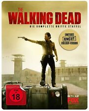 Steelbook THE WALKING DEAD completo 3. Temporada SERIE DE TV 5 BLU-RAY Box