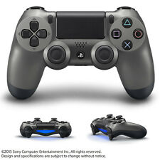 Sony PS4 Wireless Controller Steel Black Dual Shock 4 Japan limited F/S Official
