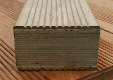 70 x 42mm Reeded Heveatech Joists/Decking/Garden/Patio/Hardwood/Timber