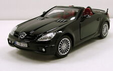 "MotorMax Mercedes Benz SLK55 AMG 1:24 scale 7"" diecast model car Black M11"