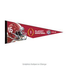 2016 Peach Bowl Alabama Crimson Tide 12x30 Premium Pennant National SemiFinal