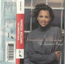 R&B ~ The Sweetest Days - Vanessa Williams (Cassette, 1994) Island Mercury ~ VG