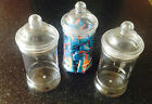 Brand New Empty Plastic Victorian/Retro Empty 500ml Sweet Jars - weddings