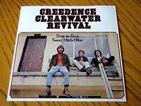"""CREEDENCE CLEARWATER REVIVAL - DOOR TO DOOR / SWEET HITCH HIKER    7"""" VINYL PS"""