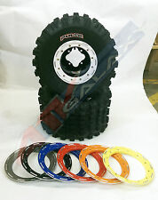 DWT G2 Beadlock Wheels CST Pulse Tires Rear Kit Honda TRX 450R 250R 400EX 300EX