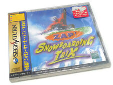 Japanese Sega Saturn Game ZAP! SNOWBOARDING TRIX JP JAP BOXED SPINE CARD B NEW