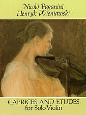 Paganini Wieniawski Caprices & Etudes For Violin Learn to Play Music Book