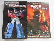 LOT OF 2 IDW TRANSFORMERS TPB'S ROBOTS IN DISGUISE CLASSICS VOL 1 2014