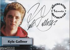 SMALLVILLE SEASON 4 A33 KYLE GALLNER AS BART ALLEN AUTOGRAPH