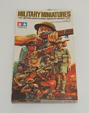 Tamiya Military Miniatures 1/35 British 8th Army Infantry Desert Rat Model Kit