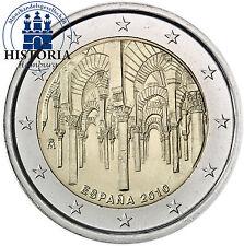 Spanien 2 Euro Gedenkmünze 2010 bfr. Die Mezquita Catedral von Cordoba