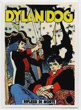 STICKER DYLAN DOG copertina n.44 riflessi di morte offiacial stickers collection