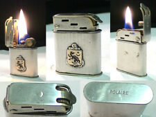 Briquet ancien Polaire Insigne para Indochine wick Lighter Feuerzeug Accendino