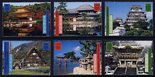 UN - All 3 Offices . 2001 World Heritage Japan (6) . Mint Never Hinged