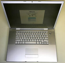 "Apple MacBook Pro 17"" A1212 2.33GHz Core 2 Duo 4GB RAM 160GB HDD 10.7 Lion"